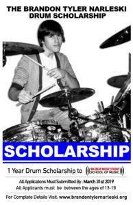 Drum Scholarship, Big Beat Studio